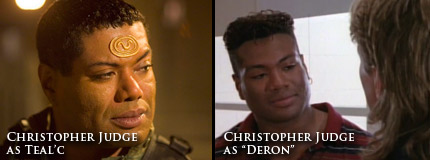 Photo: Teal'c and Deron